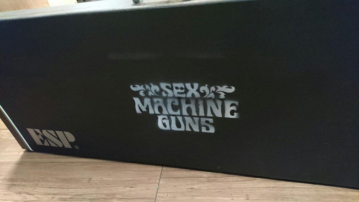 「SEX MACHINE GUNS」こんなロゴが入ったハードケースに入っているベースの買取