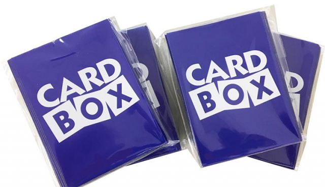 CARD BOXオリジナルスリーブを製作・販売