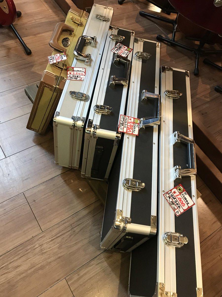【本店楽器コーナー】中古エフェクターケース色々なサイズあります