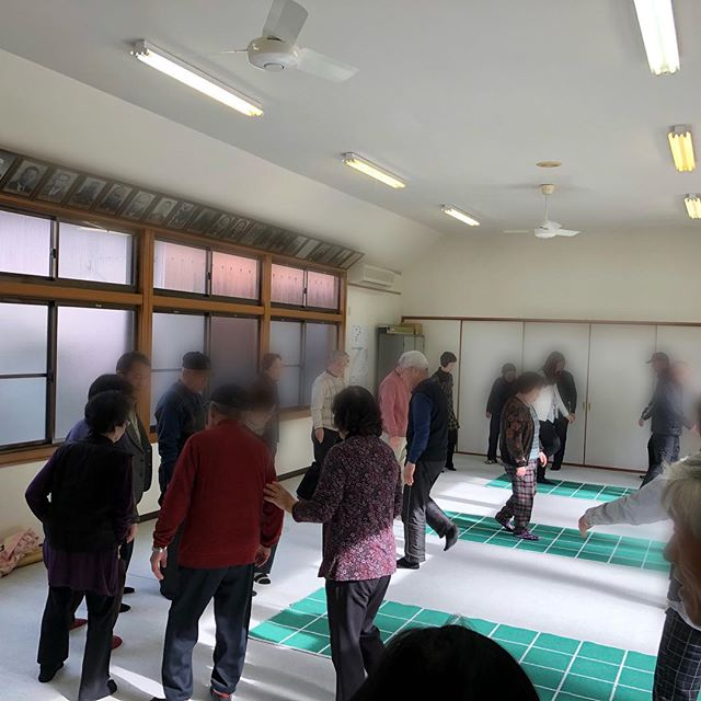 【住まいるサポート】名張市赤目町の健康教室でスクエアステップ