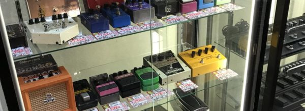 【名張本店楽器】中古エフェクターの在庫がジワジワ増えてきました^ ^