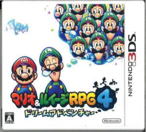3DSマリオ&ルイージRPG4 ドリームアドベンチャー