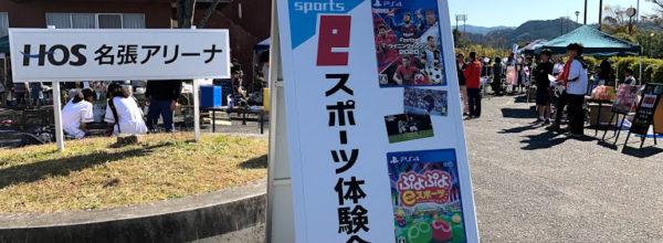 eスポーツ体験会ブースを出展【11/10スポーツフェスティバル2019】